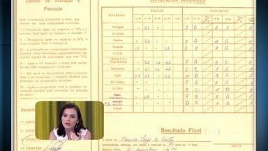 Vídeo Show exibe boletim do colégio de Monica Iozzi - Apresentadora conta que não era boa em matemática