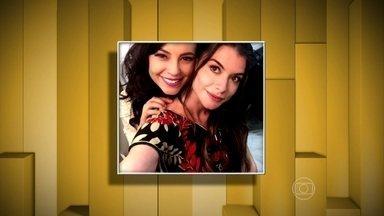 Colegas mandam recados de melhora para Alinne Moraes - Atriz de Além do Tempo se recupera de uma crise renal