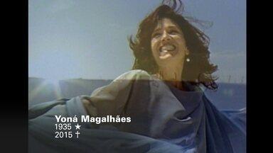 Fantástico relembra momentos da carreira de Yoná Magalhães - Atuando desde a década de 50, atriz leva com ela uma parte da história da televisão brasileira. Yoná nos deixou na terça-feira passada (20).