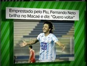 Fernando Neto, empréstimo do Fluminense, é destaque nas últimas partidas do Macaé - Próximo jogo do time é na sexta-feira (30).