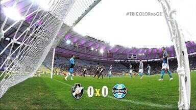 No Maracanã, Grêmio e Vasco não saem do 0 a 0 - Partida teve gostinho de final já que o Vasco tenta escapar do rebaixamento e o Grêmio tenta se manter no G-3.