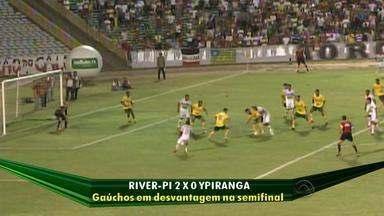 Ypiranga perde para o River-PI no primeiro jogo da semifinal da Série D - Ypiranga precisa reverter o resultado em Erechim, no próximo sábado (31).