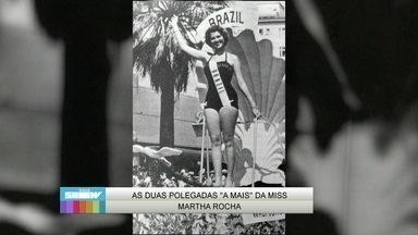 Relembre história da Miss Martha Rocha - Bela quase perde título por conta de duas polegadas de bumbum