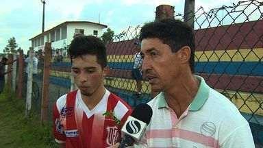 Técnico do Confiança acompanha filho na vitória do Dorense - Técnico do Confiança acompanha filho na vitória do Dorense