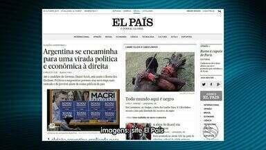 Cultura de Laranjeiras é destaque na versão eletrônica do Jornal El País - Cultura de Laranjeiras é destaque na versão eletrônica do Jornal El País.