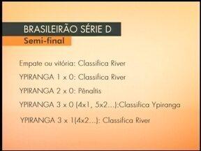 Ypiranga perde para o River do Piauí - Decisão será em casa, no sábado (31) e canarinho precisa vencer por 2 ou mais gols.