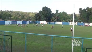 Atacante Cristiano, Sub-17 do Bahia, marca o 25° gol no Baianão - Veja o gol feito na partida contra o Redenção. O jogo terminou em 6 x 0.