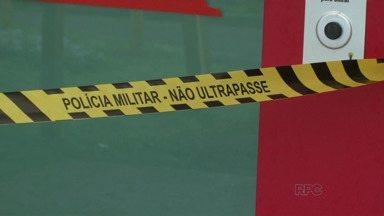Ladrões arrombam caixas eletrônicos em Guarapuava - 2 caixas foram arrombados na Urgência Municipal do Trianon.