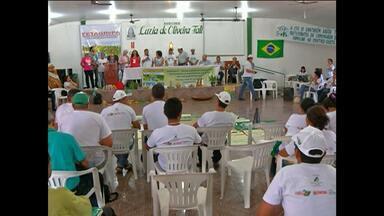 Santarém sedia encerramento de caminhada pela agricultura familiar - Discussão foi sobre cadastro rural participativo.