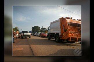Moradores bloqueiam estrada de Mosqueiro, distrito de Belém - Manifestantes protestam contra morte por atropelamento na área.