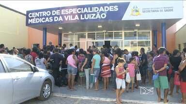 Demora e reclamação na marcação de consultas no Centro de Especialidades da Vila Luizão - Demora e reclamação na marcação de consultas no Centro de Especialidades da Vila Luizão