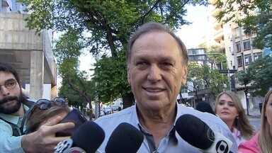 Ex-prefeito Antério Mânica é julgado, em BH, pela Chacina de Unaí - Ele é acusado de ser um dos mandantes do crime