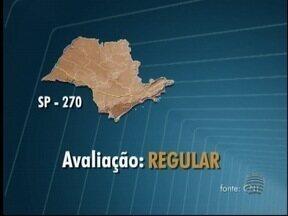 Rodovias do Oeste Paulista são avaliadas como 'boa' e 'regular' - Estudo analisa fatores como sinalização e pavimentação.