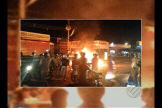 Homens armados explodem banco e fazem reféns em Santana do Araguaia - Polícia não soube informar a quantia levada pelos assaltantes.