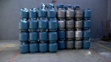 Preço do botijão de gás sofre novo reajuste - É a segunda vez este ano que o produto tem aumento de preço
