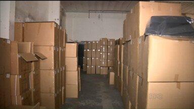 Polícia prende quadrilha que vendia peças falsificadas para carros - As apreensões foram feitas em casas e em barracões com depósitos lotados.