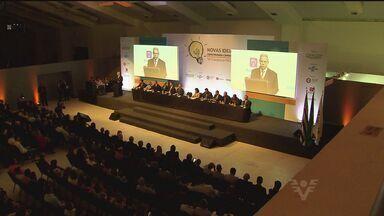 Guarujá recebe Congresso das Associações Comerciais de São Paulo - Começou na última quarta-feira (4) o Congresso das Associações Comerciais de São Paulo. Pela terceira vez, o congresso acontece em Guarujá. O evento discute soluções para crise.