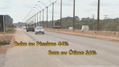 Pesquisa mostra que 44% das estradas de RO são ruinns ou péssimas - Dados são da Confederação Nacional de Transportes.