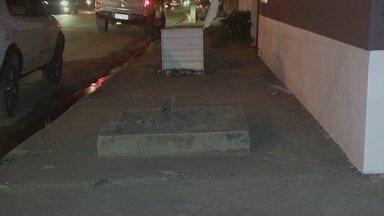 Especialistas analisam calçadas de Porto Velho - Além de faltar calçada em alguns trechos, falta acessibilidade.
