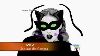 Confira os destaques da agenda cultural para o fim de semana - Anitta está entre as atrações.