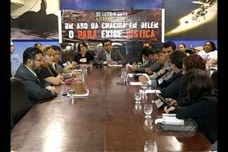 Familiares de vítimas de chacina em Belém cobram conclusão de investigações em CPI - Famílias das vítimas participaram de uma reunião na Alepa na última quinta (5). Apenas três dos 11 inquéritos foram esclarecidos.