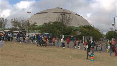 Hoje é o último dia de inscrição para concorrer a casas em Campina Grande - Cerca de 12 mil pessoas devem se inscrever para concorrer a uma vaga no conjunto habitacional Aluísio Campos.