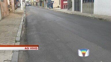 Ruas de Taubaté são interditadas para recapeamento - Obras estão sendo realizadas no Centro da cidade