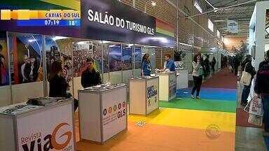 Feira reúne milhares de agentes de viagens e empresários em Gramado, RS - Festival internacional de turismo tem o objetivo de discutir tendências no setor turístico.