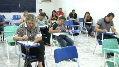 Professores candidatos à direção de escolas no Maranhão participaram de avaliação - Em Codó (MA), professores candidatos à direção de escolas participaram no fim de semana de uma avaliação.