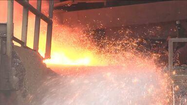 Crise ameaça empregos em siderúrgica em Açailândia - Crise ameaça empregos em siderúrgica em Açailândia.