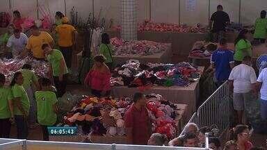 Receita Federal realiza bazar de produtos apreendidos - O dinheiro arrecadado será doado para duas instituições de Fortaleza.