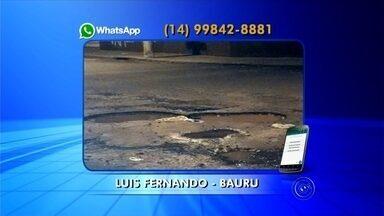 Moradores de Bauru e Iacri cobram soluções das autoridades - Os moradores de Bauru e Iacri cobram soluções das autoridades. As reclamações estão ligadas ao saneamento básico e infraestrutura básica.