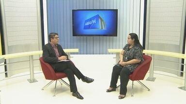 Secretária de saúde do Amapá comenta situação dos hospitais do estado - A secretária de saúde do estado, Renilda Costa.