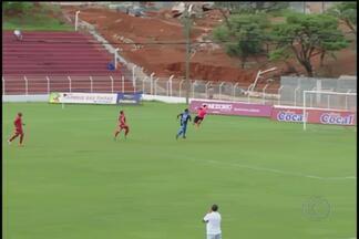Semifinais do Amador de Uberlândia começar com empates - Voluntários e América terminam empatados em 1 a 1 com golaço de Renna. Na outra partida, Tabajara e Guara ficaram no 0 a 0