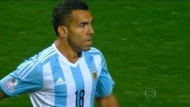 Sem Messi, Argentina deve enfrentar Brasil também sem Tévez - Imprensa local especula time mais defensivo.
