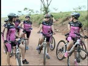 Mulheres se unem pela prática do ciclismo - Grupo de Pirapozinho comemora os resultados do esporte.