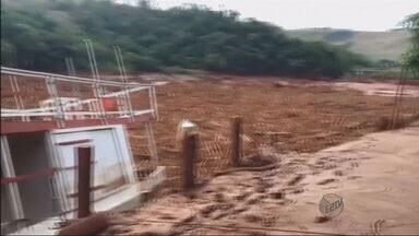 Novos tremores de terra são sentidos em região de rompimento de barragens em Mariana (MG) - Novos tremores de terra são sentidos em região de rompimento de barragens em Mariana (MG)