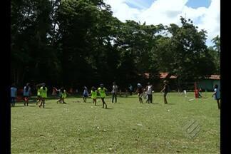 Criançada disputa 6ª edição dos Jogos Estudantis da Ilha do Combú - Várias modalidades foram disputadas pelas crianças.