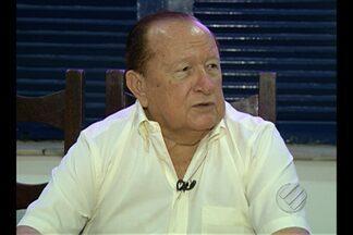 Manoel Ribeiro esclarece situação de Cacaio e diz que Remo deve dispensar mais oito - Presidente fala sobre situação do clube e esclarece dispensas.