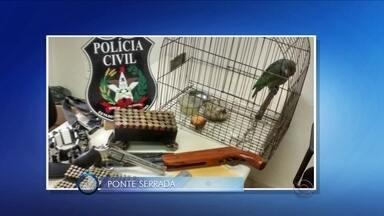 Operação prende três pessoas no Oeste; veja giro de notícias - Operação prende três pessoas no Oeste; veja giro de notícias