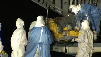 Brasileiro pode estar infectado por Ebola - Homem está internado na Fiocruz e espera resultado de exames.