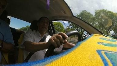 Taxista argentino apaixonado pelo Brasil fala da rivalidade com os hermanos - Taxista argentino apaixonado pelo Brasil fala da rivalidade com os hermanos