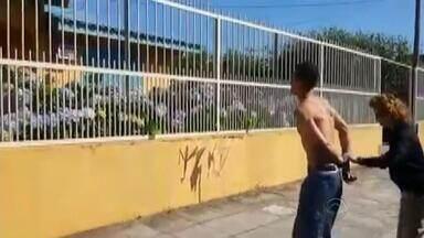 Preso suspeito de assalto e estupro no Litoral Norte do Rio Grande do Sul - Inicialmente a polícia acreditava que se trava de uma dupla, no entanto, no decorrer das investigações, identificou apenas um suspeito como responsável pelo crime.