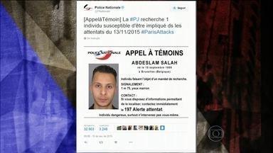 Polícia francesa faz caçada intensa para identificar terroristas - A polícia francesa está numa caçada intensa para identificar todos os terroristas envolvidos nos atentados de sexta-feira (15)