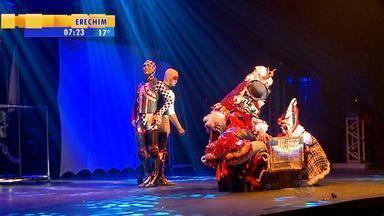 Festival reúne grupos de circo gaúchos e catarinenses em Pelotas, RS - Shows serão feitos em diferentes locais da cidade.