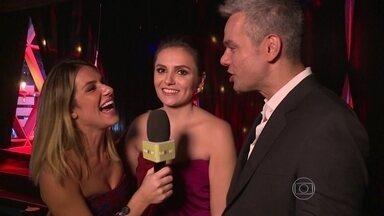 Vídeo Show leva Prêmio Extra de Televisão de Melhor Programa - Otaviano Costa e Monica Iozzi mostram os bastidores da premiação
