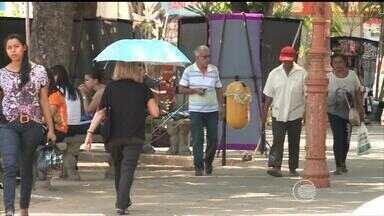 Ano de 2016 será de chuvas irregulares e muito calor no Piauí - Ano de 2016 será de chuvas irregulares e muito calor no Piauí