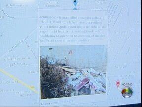 'Parceiros do SP' recebe fotos com os problemas de bairros prudentinos - Gríssia Bueno mostra como funciona a ferramenta.