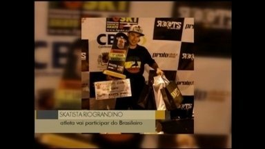 Skatista Willian Ribeiro garante vaga para Brasileiro - Rio-grandino venceu etapa do campeonato realizado em Uruguaiana.