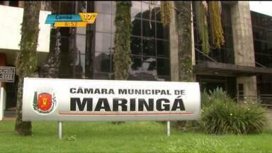 Observatório Social quer explicações sobre orçamento da Câmara de Maringá - Para 2016, vereadores estão prevendo um aumento de R$ 4 milhões. Parte desse valor será utilizado para realização de obras, segundo Câmara.